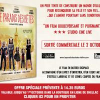Le Paradis des bêtes d'Estelle Larrivaz en DVD