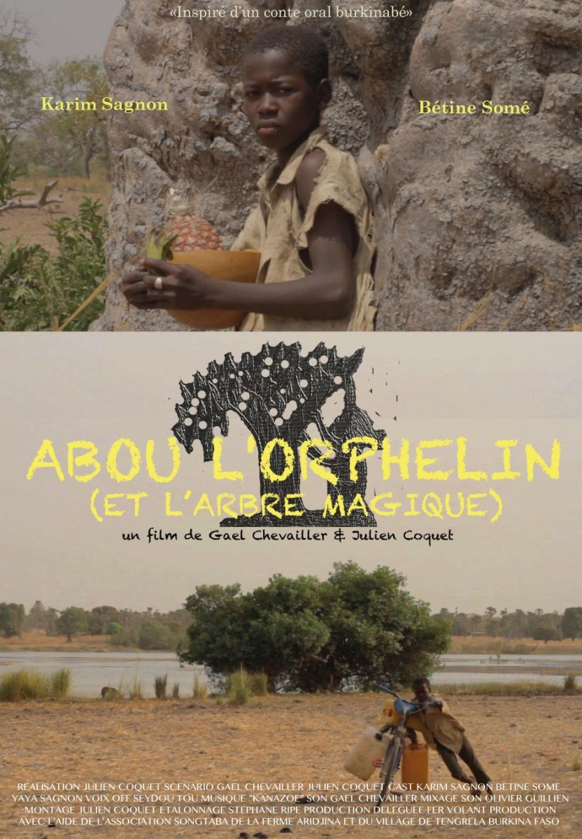 Samedi 18 Mai au Comoedia à 10H30: ABOU L'ORPHELIN (ET L'ARBRE MAGIQUE)