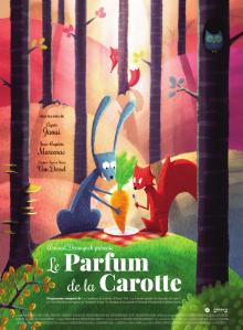 Le parfum de la carotte, quatre courts-métrages d'animation  croquants et craquants