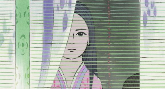 Minuscule petite fille née dans une tige de bambou, Kaguya deviendra la plus convoitée des princesses du pays. (Photo Hatake Jimusho)