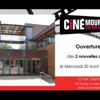 Ouverture du nouveau Ciné Mourguet , le 20 août