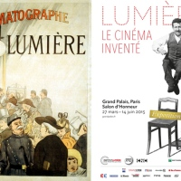 """L'Exposition """"Lumière, le cinéma inventé"""" est ouverte depuis le 27 mars au Grand Palais à Paris"""