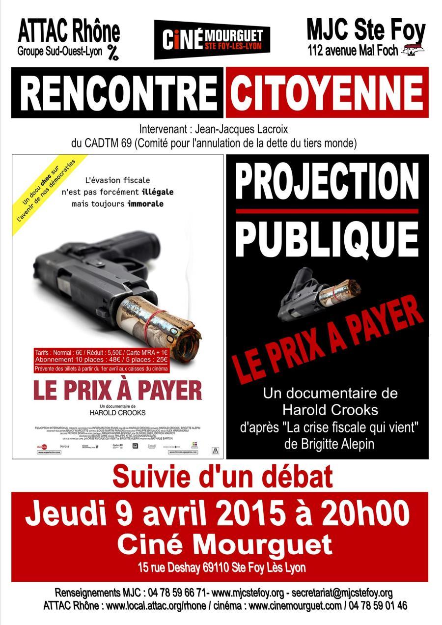 Communiqué de presse LE PRIX À PAYER (3)