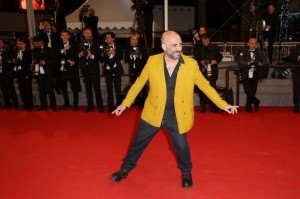 Gaspar Noé - Montée des marches du film