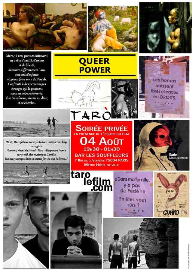 Affiche soirée TARO