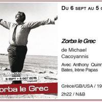 [Reprise] Zorba le Grec à découvrir en septembre dans les salles du GRAC