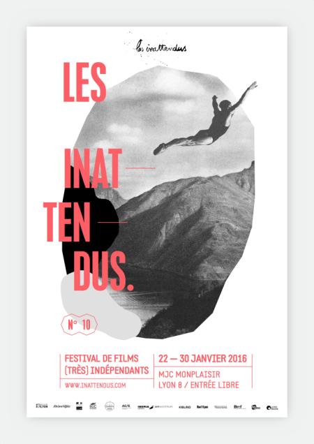 Affiche festival les inéttendus