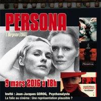"""Rencontres ciné-psy,  mercredi 9 mars """"Persona"""" de Bergman et la question de la folie au cinéma"""