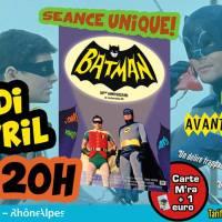 Samedi 23 avril, le premier film BATMAN au Ciné Mourguet