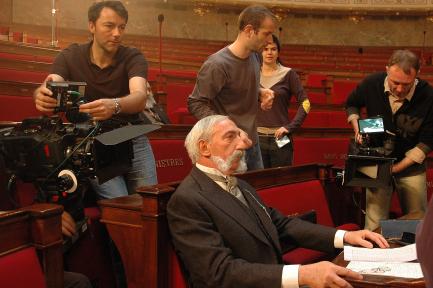 """Tournage du film """" La séparation """" 1905 - 28 avril 2005"""