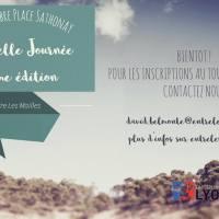 Le 3 septembre place Sathonay, projection de courts-métrage, lors de la Belle Journée d'Entre Les Mailles