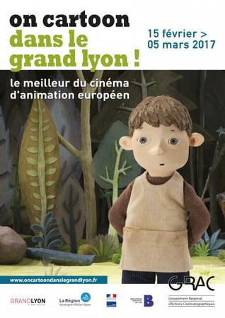 on-cartoon-affiche