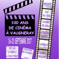 100 ans de cinéma à Vaugneray