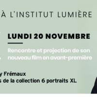"""[Jeu Concours] Gagnez des places pour """"La soirée Alain Cavalier"""" à l'Institut Lumière, lundi 20 novembre"""